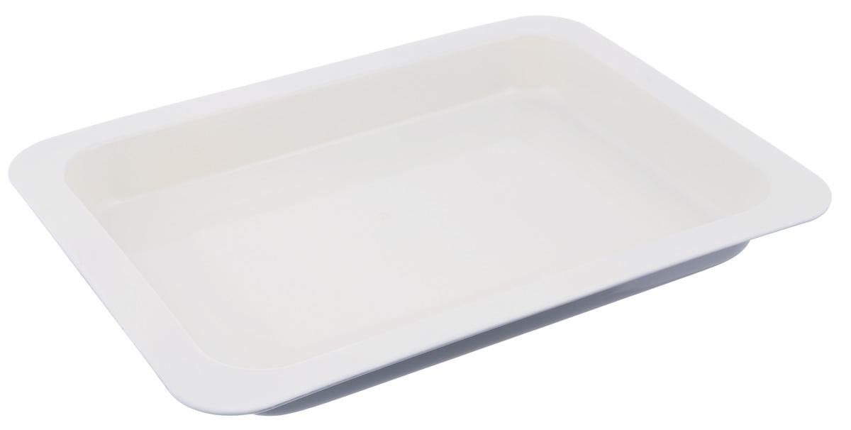 Противень Mayer & Boch, с керамическим покрытием, прямоугольный, цвет: серый, 42 х 31,5 х 5,5 см22251_серыйПротивень Mayer & Boch выполнен из высококачественной углеродистой стали и снабжен антипригарным керамическим покрытием, что обеспечивает ему прочность и долговечность. Противень равномерно и быстро прогревается, что способствует лучшему пропеканию пищи. Его легко чистить. Готовая выпечка без труда извлекается. Противень подходит для использования в духовке с максимальной температурой 250°С. Перед каждым использованием противень необходимо смазать небольшим количеством масла. Простой в уходе и долговечный в использовании противень Mayer & Boch станет верным помощником в создании ваших кулинарных шедевров. Не рекомендуется мыть в посудомоечной машине.Размер противня: 42 х 31,5 х 5,5 см. Толщина стенки: 0,5 мм.
