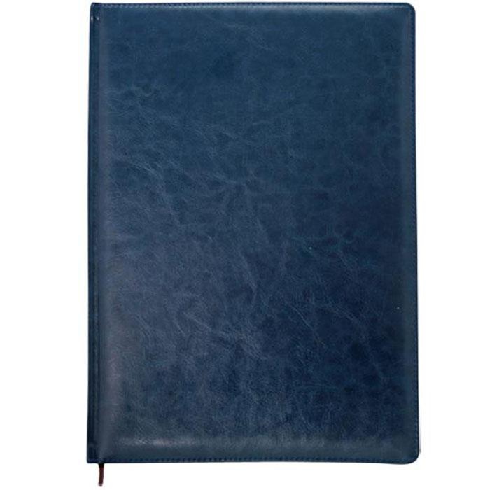 Index Ежедневник Nature недатированный 64 листа цвет синий