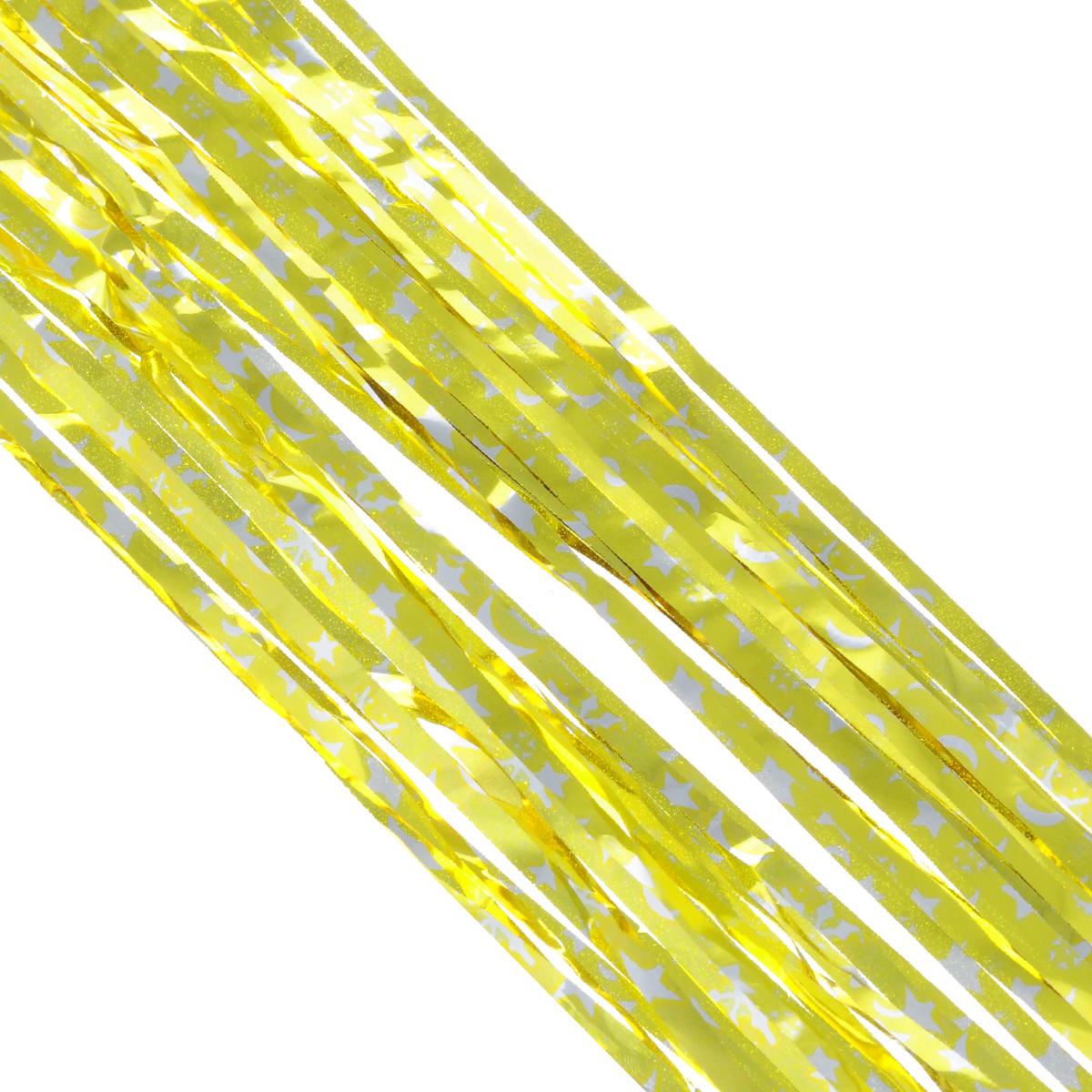 Дождик новогодний Sima-land, цвет: золотистый, 17 х 180 см. 702547702547_желтыйНовогодний дождик Sima-land, изготовленный из фольги, поможет вам украсить свой дом к предстоящим праздникам. Новогодняя елка с таким украшением станет еще наряднее. Новогодним дождиком можно украсить все, что угодно - елку, квартиру, дачу, офис - как внутри, так и снаружи. Можно сложить новогодние поздравления, буквы и цифры, дождиком можно украсить и дополнить гирлянды, можно выделить дверные колонны, оплести дверные проемы. Коллекция декоративных украшений из серии Зимнее волшебство принесет в ваш дом ни с чем несравнимое ощущение праздника! Создайте в своем доме атмосферу тепла, веселья и радости, украшая его всей семьей. Ширина: 17 см.