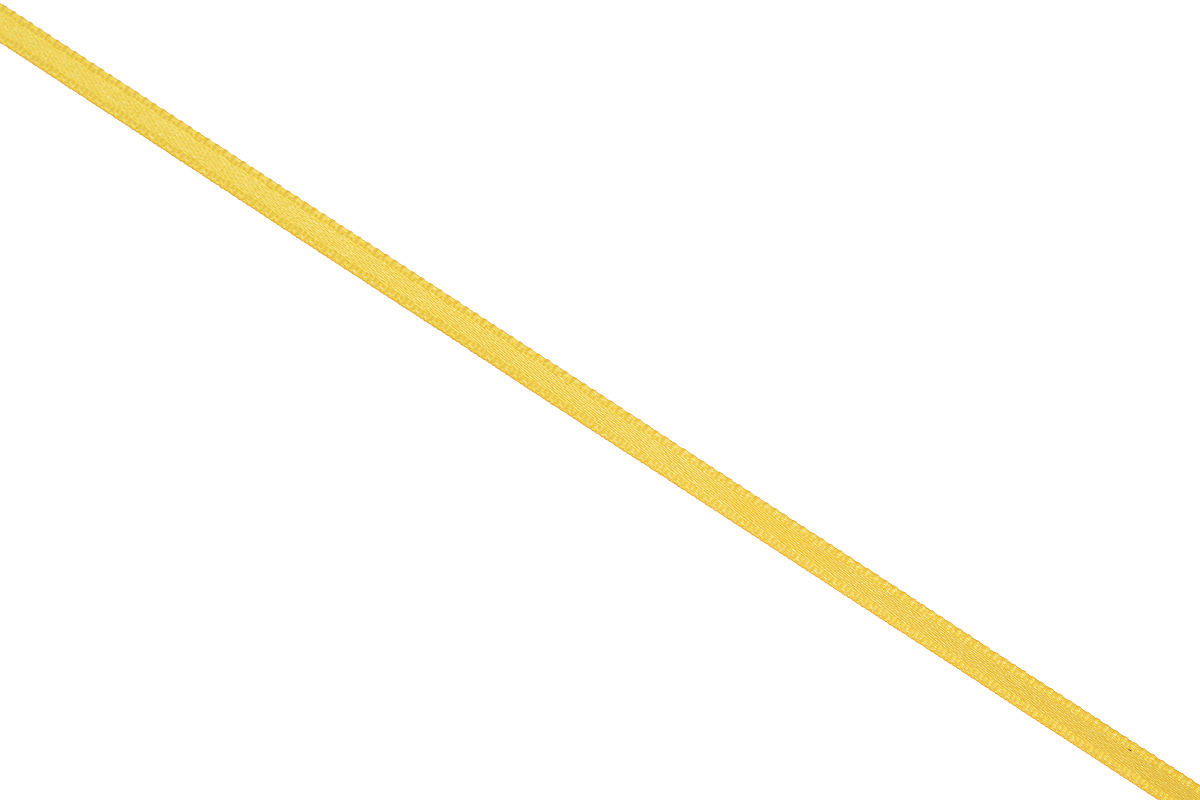 Лента атласная Prym, цвет: золотистый, ширина 3 мм, длина 50 м697069_20Атласная лента Prym изготовлена из 100% полиэстера. Область применения атласной ленты весьма широка. Изделие предназначено для оформления цветочных букетов, подарочных коробок, пакетов. Кроме того, она с успехом применяется для художественного оформления витрин, праздничного оформления помещений, изготовления искусственных цветов. Ее также можно использовать для творчества в различных техниках, таких как скрапбукинг, оформление аппликаций, для украшения фотоальбомов, подарков, конвертов, фоторамок, открыток и многого другого.Ширина ленты: 3 мм.Длина ленты: 50 м.