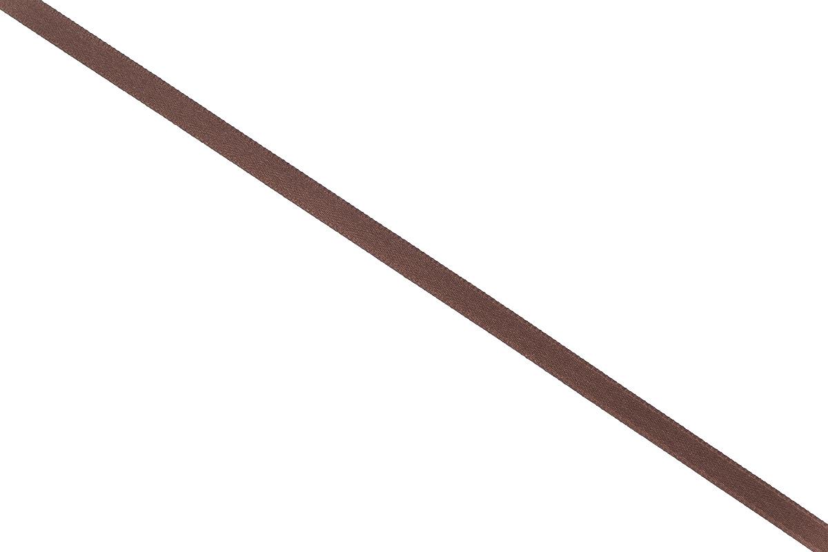 Лента атласная Prym, цвет: коричневый, ширина 6 мм, длина 25 м697070_23Атласная лента Prym изготовлена из 100% полиэстера. Область применения атласной ленты весьма широка. Изделие предназначено для оформления цветочных букетов, подарочных коробок, пакетов. Кроме того, она с успехом применяется для художественного оформления витрин, праздничного оформления помещений, изготовления искусственных цветов. Ее также можно использовать для творчества в различных техниках, таких как скрапбукинг, оформление аппликаций, для украшения фотоальбомов, подарков, конвертов, фоторамок, открыток и многого другого.Ширина ленты: 6 мм.Длина ленты: 25 м.