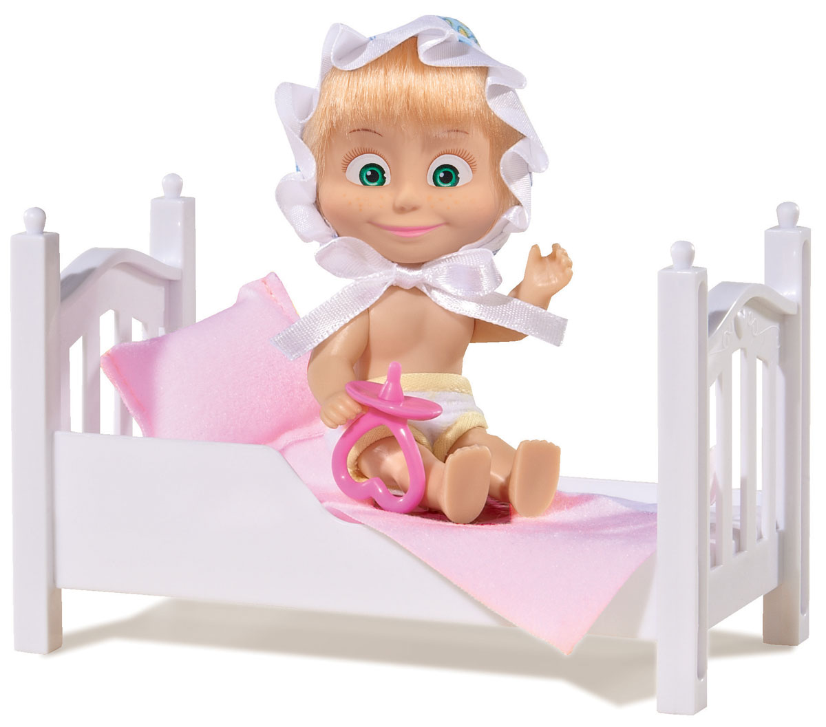 Simba Игровой набор Маша с кроваткой simba игровой набор маша художница