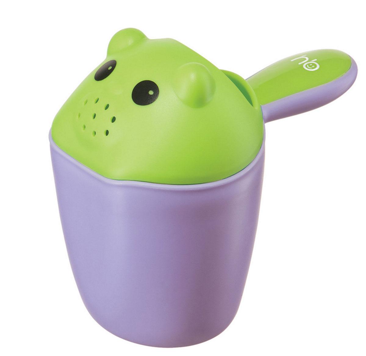 Happy Baby Ковш детский Scooppy цвет фиолетовый -  Все для купания