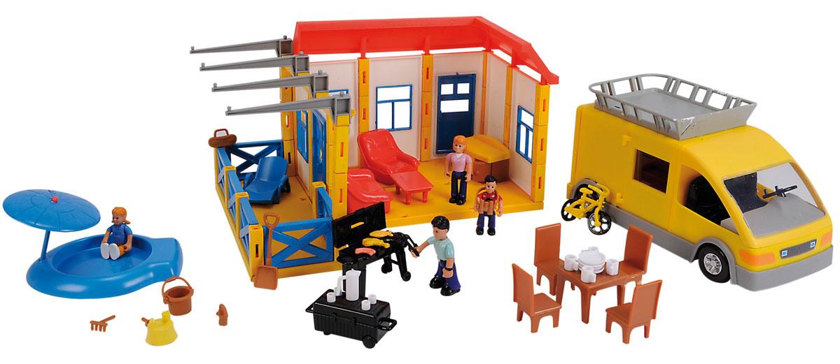 Simba Игровой набор Дачный участок simba игровой набор домик медведя