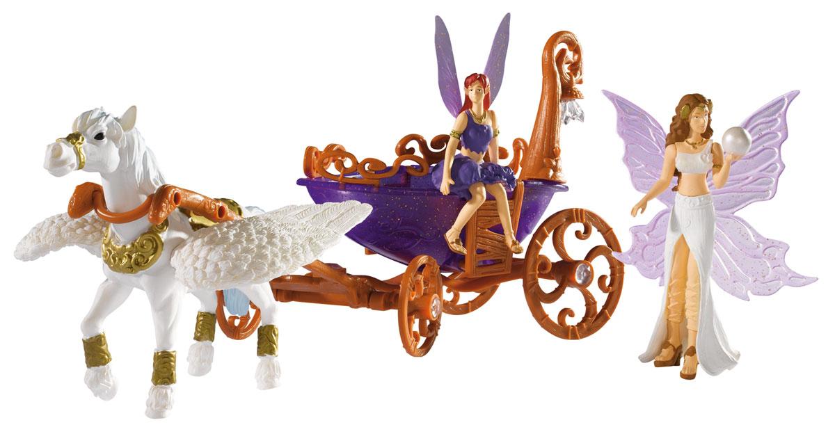 Simba Игровой набор Лошадка с каретой и феями simba набор пони 3 шт с каретой 1 12