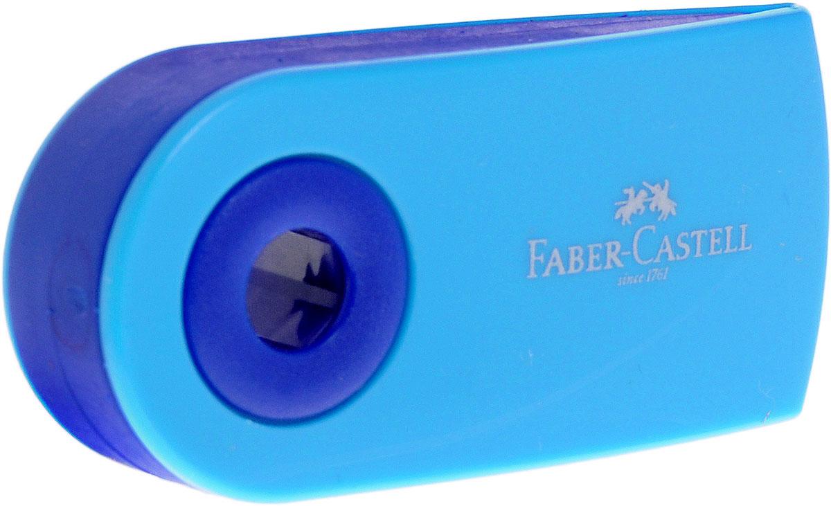 Faber-Castell Ластик Sleeve цвет голубой263396_голубойЛастик Sleeve Faber-Castell станет незаменимым аксессуаром на рабочем столе не только школьника или студента, но и офисного работника.Не оставляет грязных разводов. Кроме того высококачественный ластик не содержит ПВХ. Не повреждает бумагу даже при многократном стирании. Специальный удобный пластиковый футляр позволит защитить ластик от повреждений.