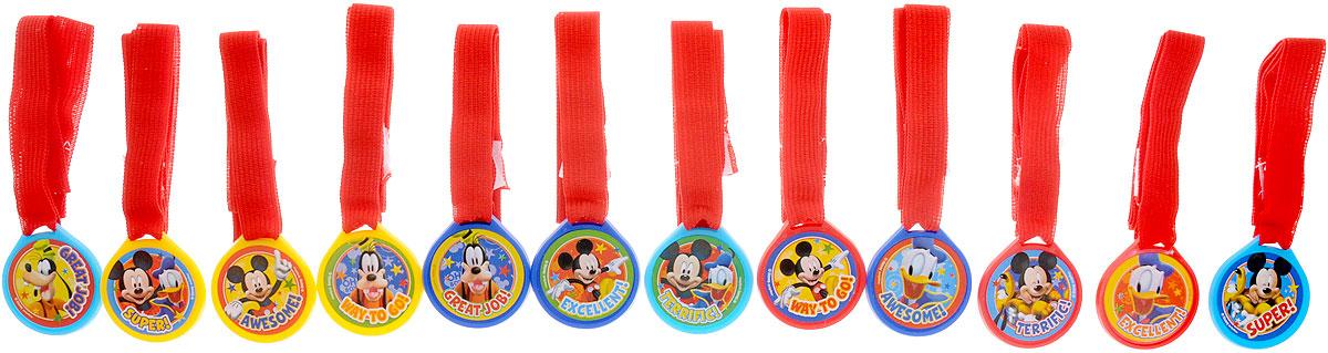 Веселая затея Медаль Disney Микки Маус12 шт disney аппликация пайетками самой модной минни маус