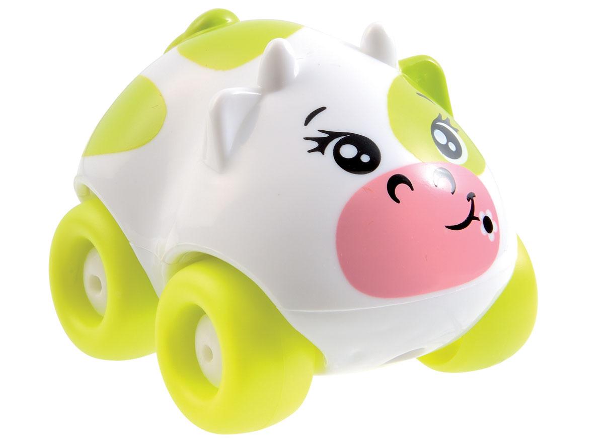 Smoby Машинка Animal Planet Корова цвет салатовый цена и фото