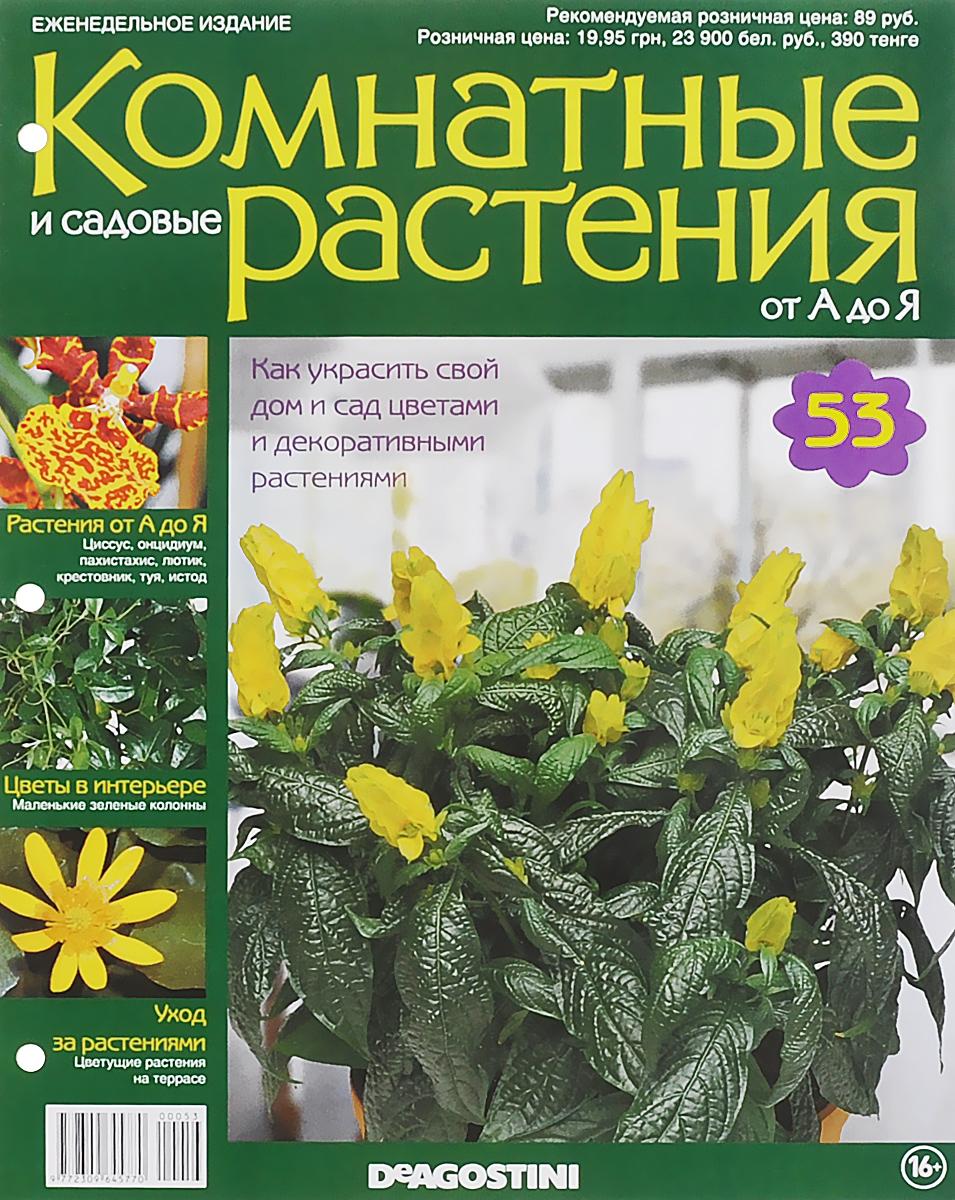 Журнал Комнатные и садовые растения. От А до Я №53 журнал комнатные и садовые растения от а до я 141
