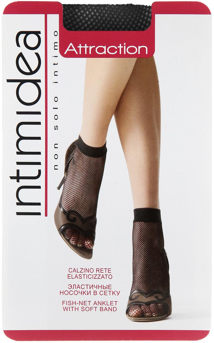 Носки женские Intimidea Attraction Rete, цвет: Nero (черный). Размер универсальный слипы intimidea
