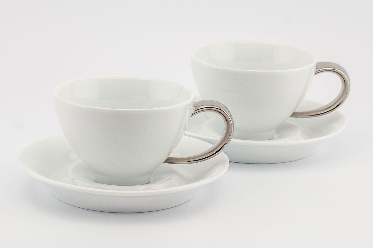 Чайная пара 300млх2 персон 4 предметаMargo 2507PL S300x2