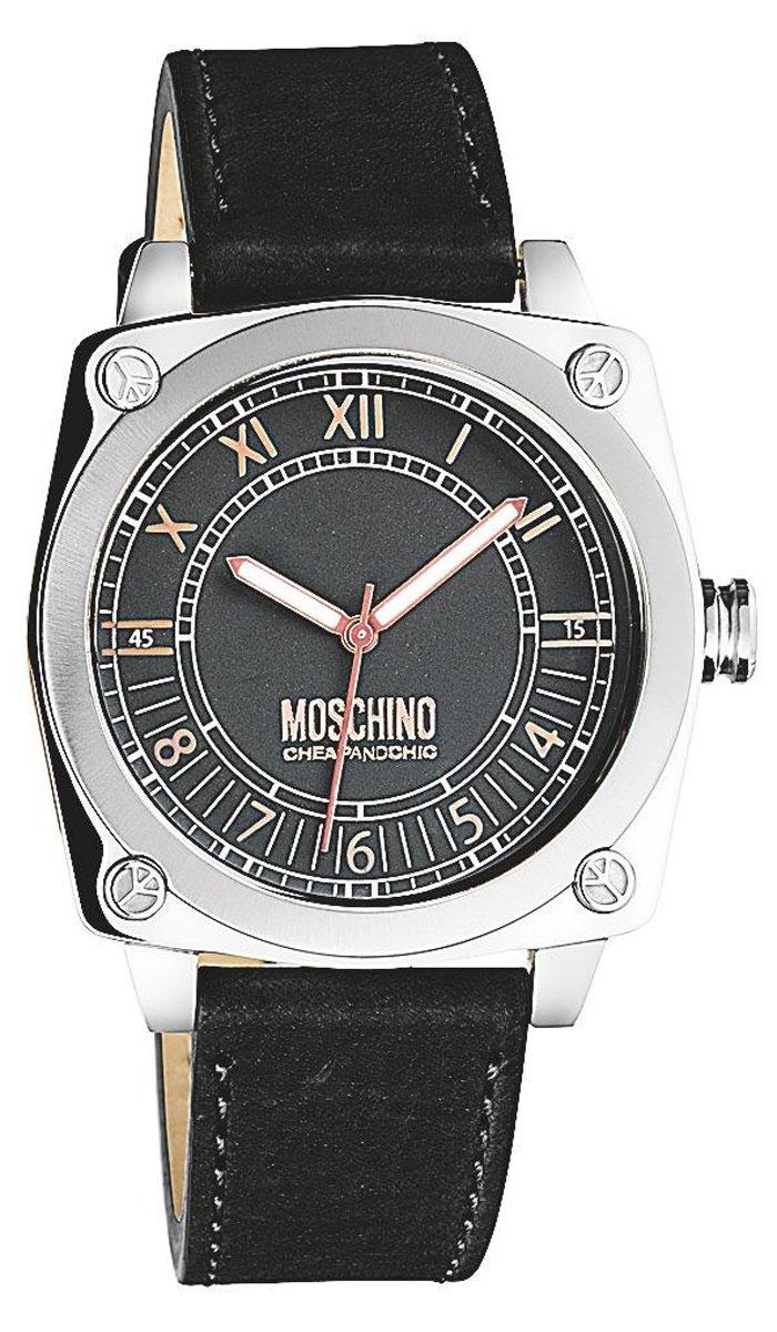 Наручные часы женские Moschino Snob, цвет: черный. MW0294
