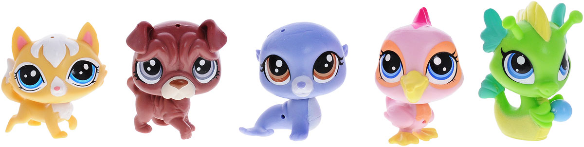 Littlest Pet Shop Игровой набор Seaside Fun