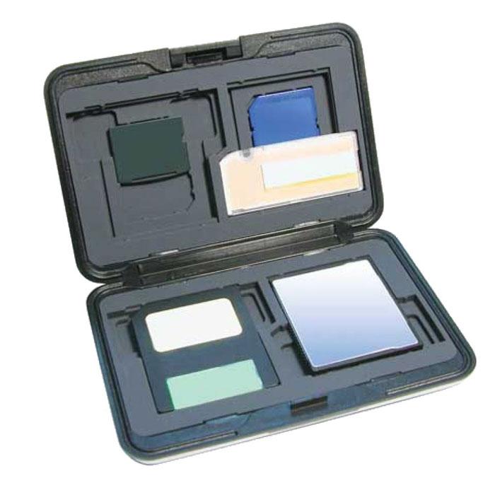 Футляр для карт памяти AC152 носки guahoo kids heavy antislip 31 34 blue orange 55 0673cf