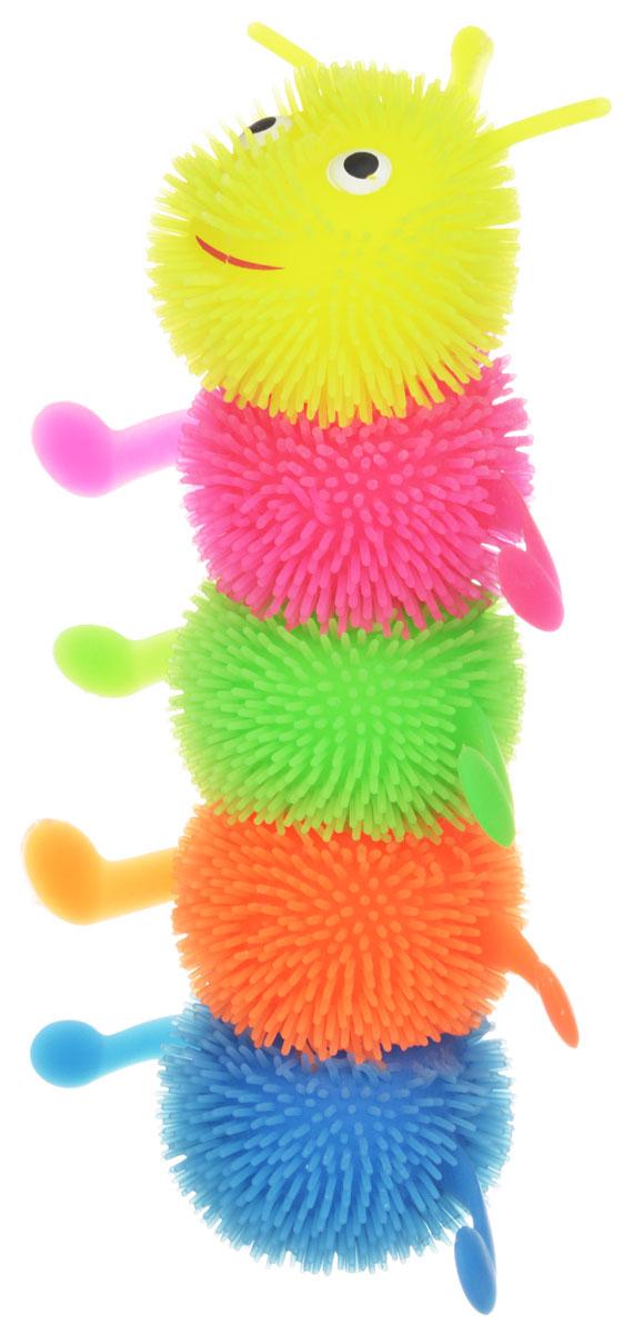 1TOY Игрушка-антистресс Ё-Ёжик Гусеница 1toy игрушка антистресс ё ёжик инопланетянин одноглазый цвет оранжевый