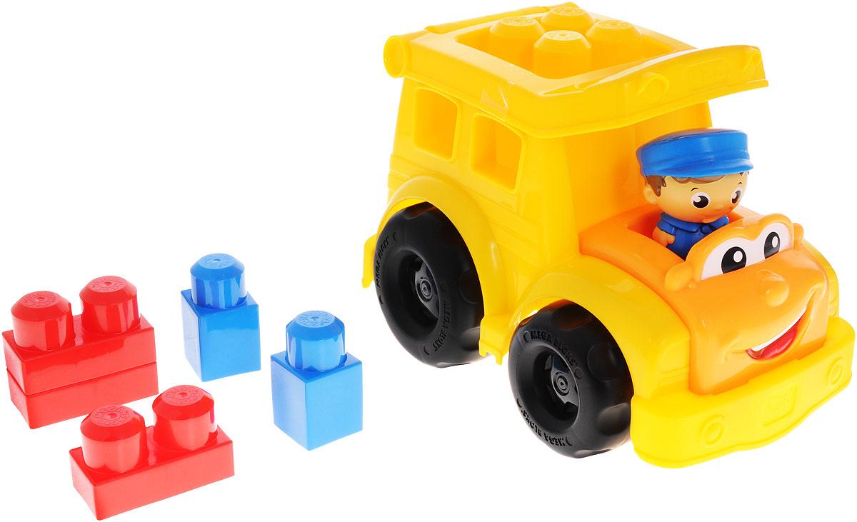 Mega Bloks First Builders Конструктор Школьный автобус Сонни клетка для птиц ферпласт регина с комплектом белая