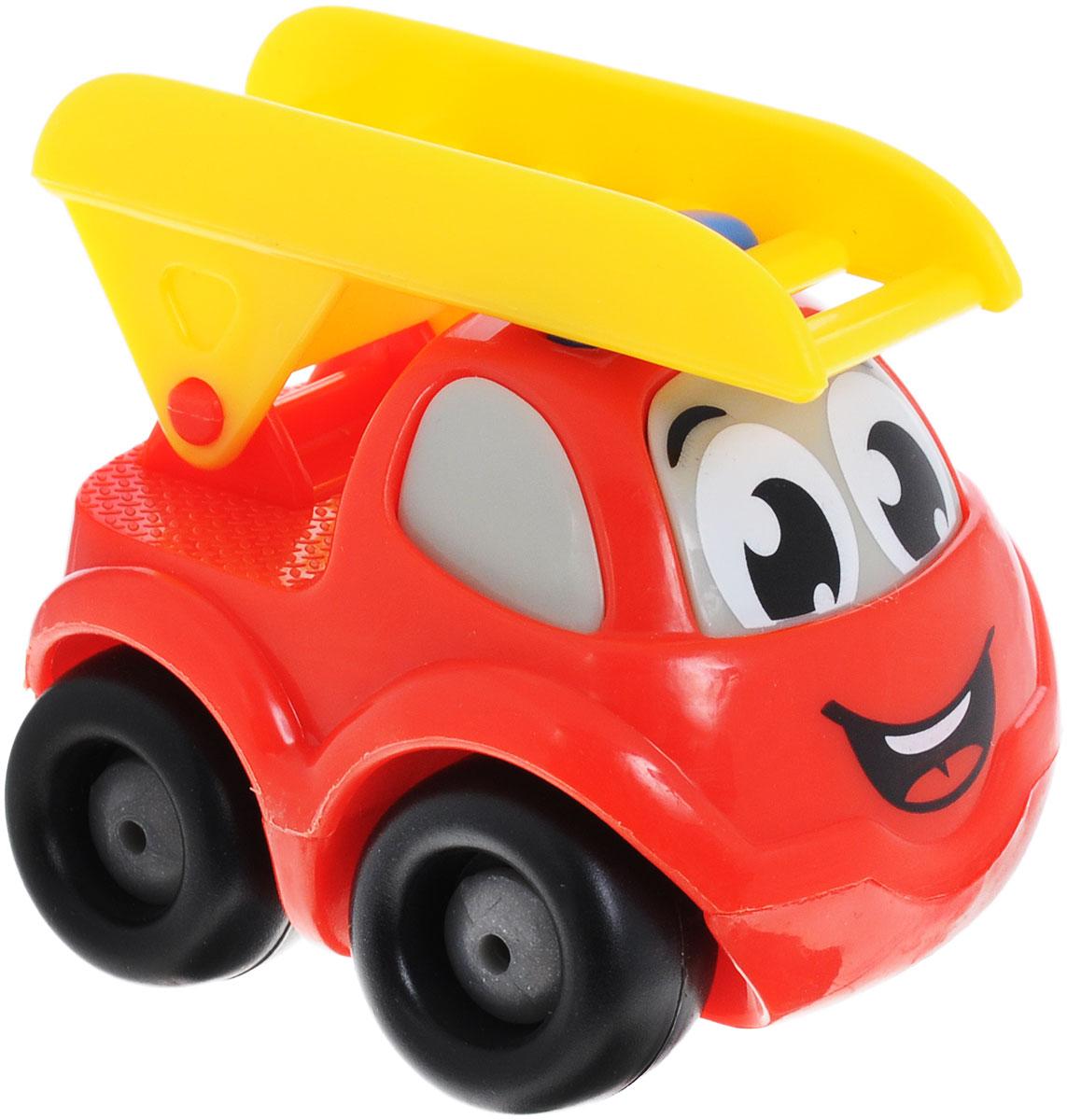 Smoby Машинка Vroom Planet цвет красный желтый smoby игрушка блендер tefal smoby