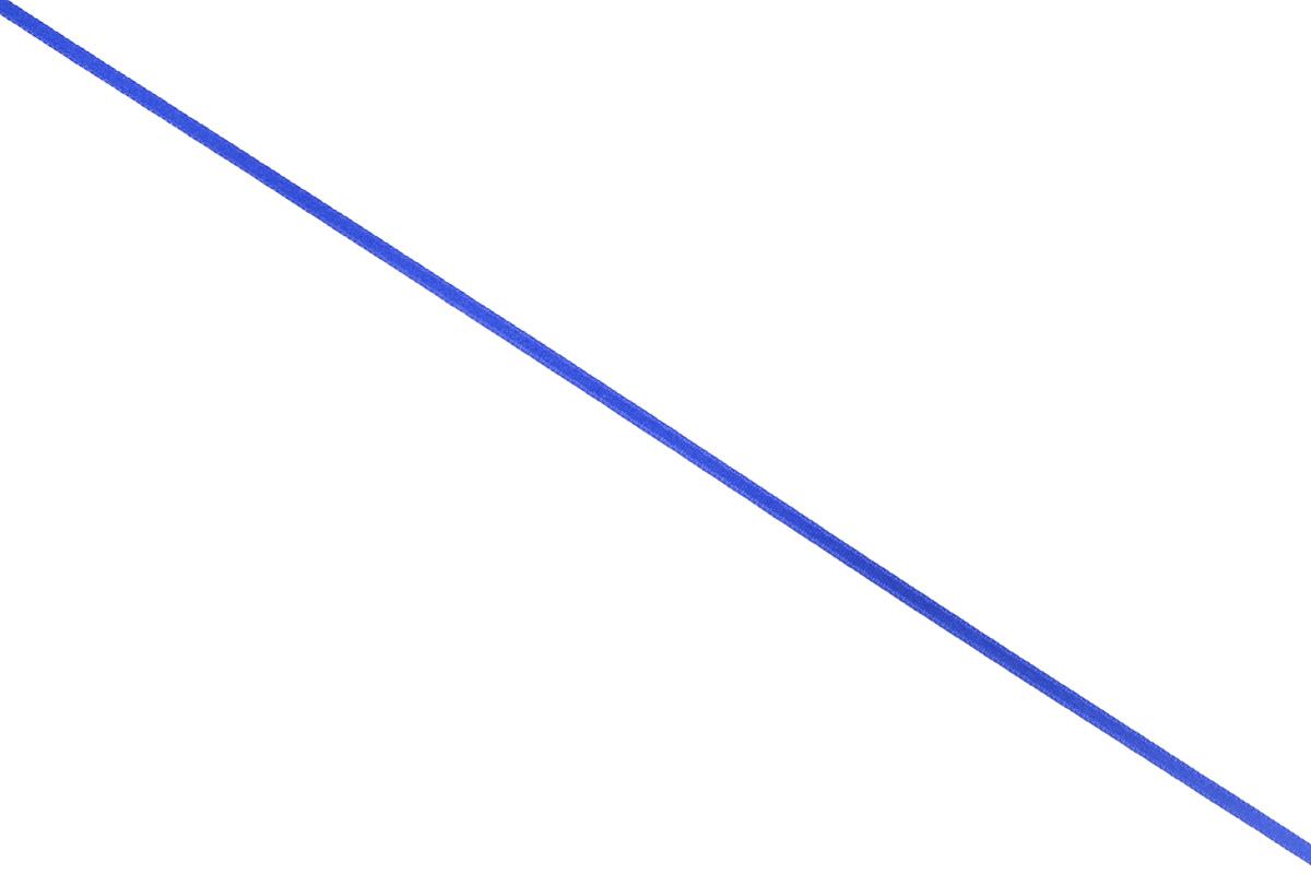 Лента атласная Prym, цвет: ярко-синий, ширина 3 мм, длина 50 м697069_55Атласная лента Prym изготовлена из 100% полиэстера. Область применения атласной ленты весьма широка. Изделие предназначено для оформления цветочных букетов, подарочных коробок, пакетов. Кроме того, она с успехом применяется для художественного оформления витрин, праздничного оформления помещений, изготовления искусственных цветов. Ее также можно использовать для творчества в различных техниках, таких как скрапбукинг, оформление аппликаций, для украшения фотоальбомов, подарков, конвертов, фоторамок, открыток и многого другого.Ширина ленты: 3 мм.Длина ленты: 50 м.