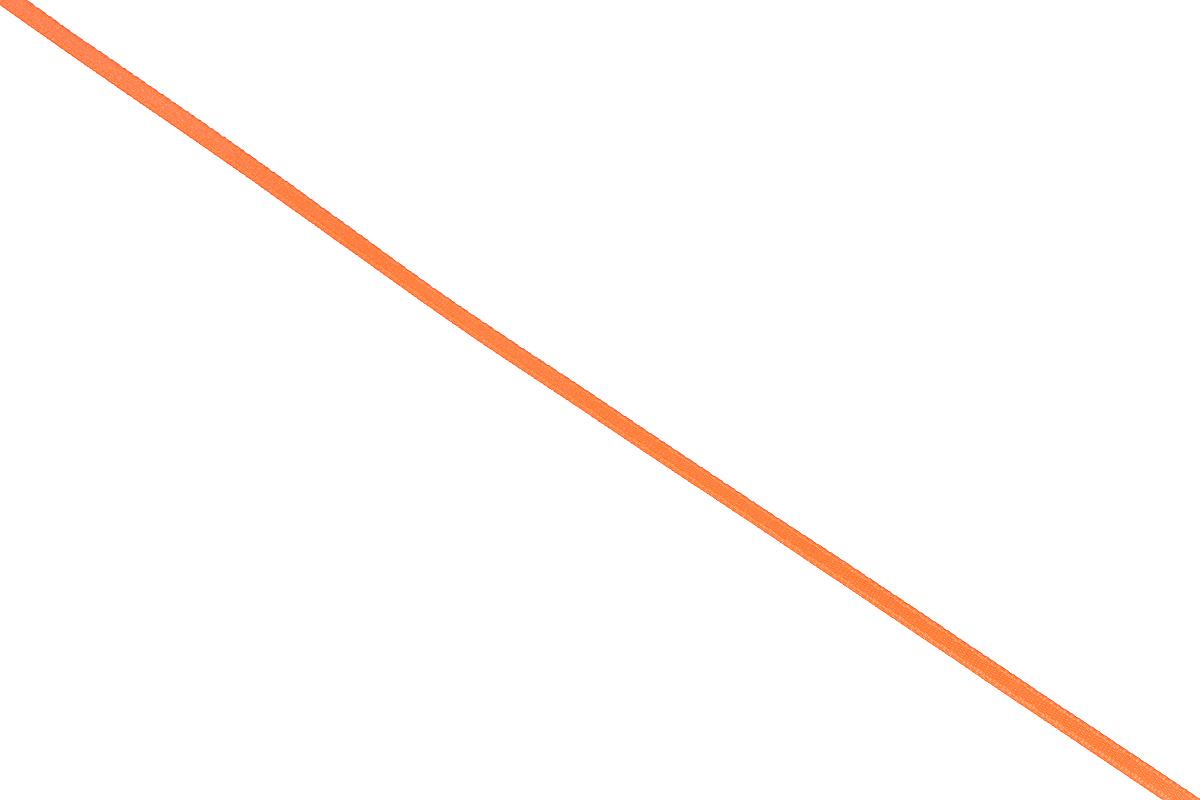 Лента атласная Prym, цвет: ярко-оранжевый, ширина 3 мм, длина 50 м697068_69Атласная лента Prym изготовлена из 100% полиэстера. Область применения атласной ленты весьма широка. Изделие предназначено для оформления цветочных букетов, подарочных коробок, пакетов. Кроме того, она с успехом применяется для художественного оформления витрин, праздничного оформления помещений, изготовления искусственных цветов. Ее также можно использовать для творчества в различных техниках, таких как скрапбукинг, оформление аппликаций, для украшения фотоальбомов, подарков, конвертов, фоторамок, открыток и многого другого.Ширина ленты: 3 мм.Длина ленты: 50 м.
