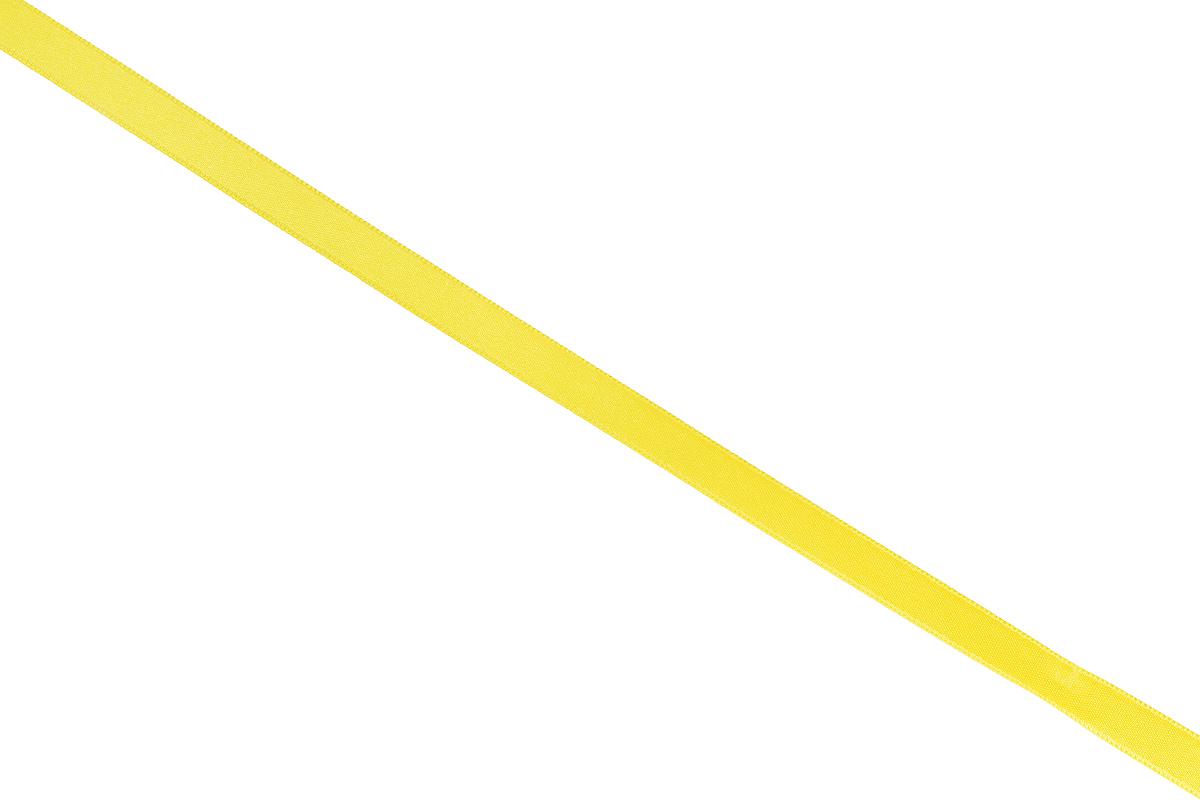 Лента атласная Prym, цвет: желтый, ширина 10 мм, длина 25 м697086_31Атласная лента Prym изготовлена из 100% полиэстера. Область применения атласной ленты весьма широка. Изделие предназначено для оформления цветочных букетов, подарочных коробок, пакетов. Кроме того, она с успехом применяется для художественного оформления витрин, праздничного оформления помещений, изготовления искусственных цветов. Ее также можно использовать для творчества в различных техниках, таких как скрапбукинг, оформление аппликаций, для украшения фотоальбомов, подарков, конвертов, фоторамок, открыток и многого другого.Ширина ленты: 10 мм.Длина ленты: 25 м.