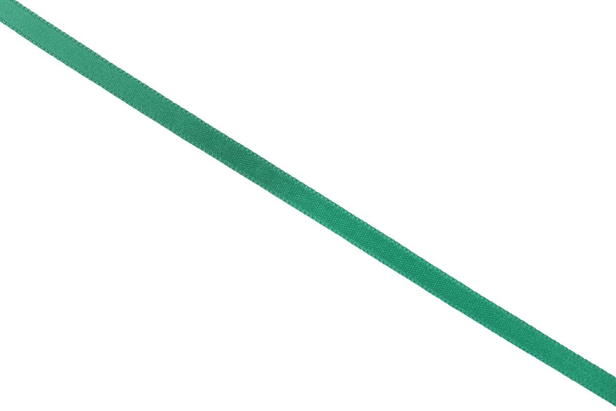 Лента атласная Prym, цвет: зеленый, ширина 6 мм, длина 25 м лента эластичная prym color зубец 25 мм 7 м