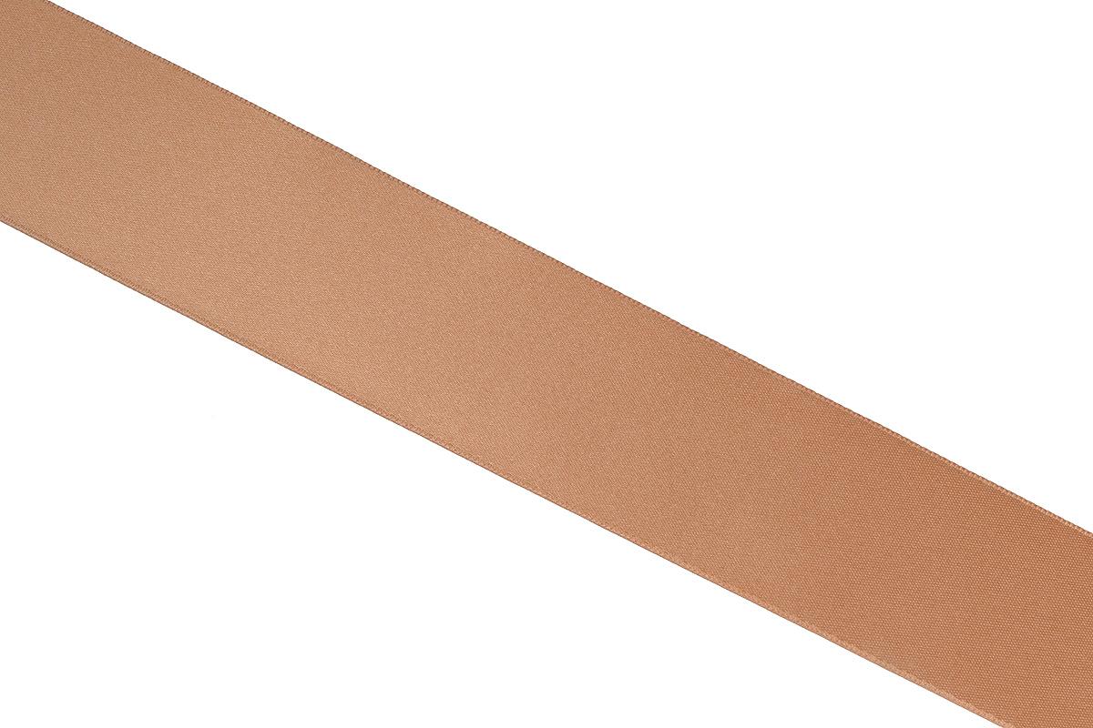 Лента атласная Prym, цвет: темно-бежевый, ширина 38 мм, длина 25 м695806_24Атласная лента Prym изготовлена из 100% полиэстера. Область применения атласной ленты весьма широка. Изделие предназначено для оформления цветочных букетов, подарочных коробок, пакетов. Кроме того, она с успехом применяется для художественного оформления витрин, праздничного оформления помещений, изготовления искусственных цветов. Ее также можно использовать для творчества в различных техниках, таких как скрапбукинг, оформление аппликаций, для украшения фотоальбомов, подарков, конвертов, фоторамок, открыток и многого другого.Ширина ленты: 38 мм.Длина ленты: 25 м.