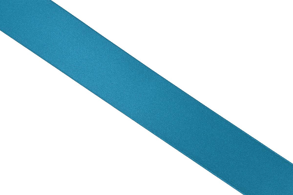 Лента атласная Prym, цвет: темно-бирюзовый, ширина 38 мм, длина 25 м695806_50Атласная лента Prym изготовлена из 100% полиэстера. Область применения атласной ленты весьма широка. Изделие предназначено для оформления цветочных букетов, подарочных коробок, пакетов. Кроме того, она с успехом применяется для художественного оформления витрин, праздничного оформления помещений, изготовления искусственных цветов. Ее также можно использовать для творчества в различных техниках, таких как скрапбукинг, оформление аппликаций, для украшения фотоальбомов, подарков, конвертов, фоторамок, открыток и многого другого.Ширина ленты: 38 мм.Длина ленты: 25 м.