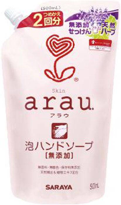 Мыло жидкое для рук Arau, сменный блок, 500 мл25779Жидкое мыло Arau предназначено для ежедневного ухода за руками. Нежнейшая мягкая пенка бережно и эффективно очищает кожу. Входящие в состав экстракты периллы и розмарина оказывают антибактериальное, противовоспалительное и успокаивающее действие. Эфирные масла лаванды и лайма придадут вашей коже приятный нежный аромат. Средство экономично в использовании. Состав: вода, натуральная мыльная основа на базе кокосового масла, глицерин, экстракт листьев розмарина, эфирное масло лаванды, эфирное масло лайма, экстракт листьев периллы. Товар сертифицирован.