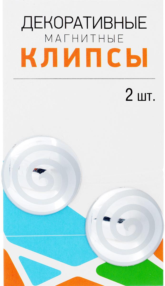Клипсы магнитные для штор SmolTtx Гипноз, с леской, цвет: серебристый, длина 33,5 см, 2 шт7704019_579Магнитные клипсы SmolTtx Гипноз предназначеныдля придания формы шторам. Изделие представляетсобой соединенные леской два элемента, навнутренней поверхности которых расположенымагниты. С помощью такой клипсы можно зафиксироватьпортьеры, придать им требуемое положение, сделатьскладки симметричными или приблизить портьеры,скрепить их. Следует отметить, что такие аксессуары для шторвыполняют не только практическую функцию, но такжеявляются одной из основных деталей декора, котораяпридает шторам восхитительный, стильный внешнийвид.Длина клипсы (с учетом лески): 33,5 см. Диаметр клипсы: 3,5 см.