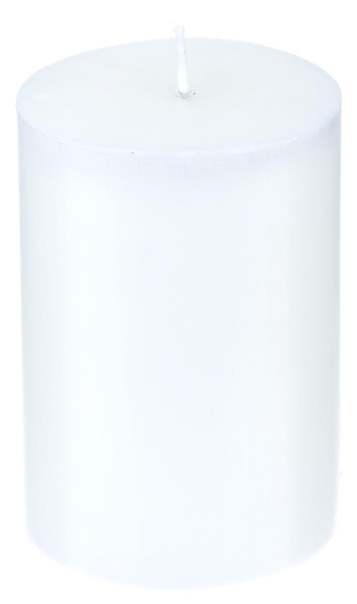 Свеча декоративная Proffi, цвет: белый, высота 8 смPH5889Декоративная свеча Proffi выполнена из парафина и стеарина в классическом стиле. Изделие порадует вас ярким дизайном. Такую свечу можно поставить в любое место, и она станет ярким украшением интерьера. Свеча Proffi создаст незабываемую атмосферу, будь то торжество, романтический вечер или будничный день.