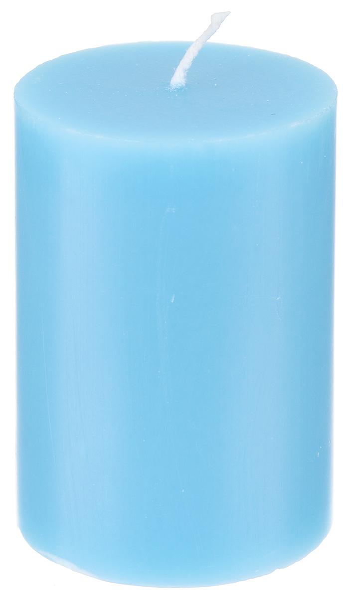 Свеча декоративная Proffi, цвет: голубой, высота 8 смPH5893Декоративная свеча Proffi выполнена из парафина и стеарина в классическом стиле. Изделие порадует вас ярким дизайном. Такую свечу можно поставить в любое место, и она станет ярким украшением интерьера. Свеча Proffi создаст незабываемую атмосферу, будь то торжество, романтический вечер или будничный день.