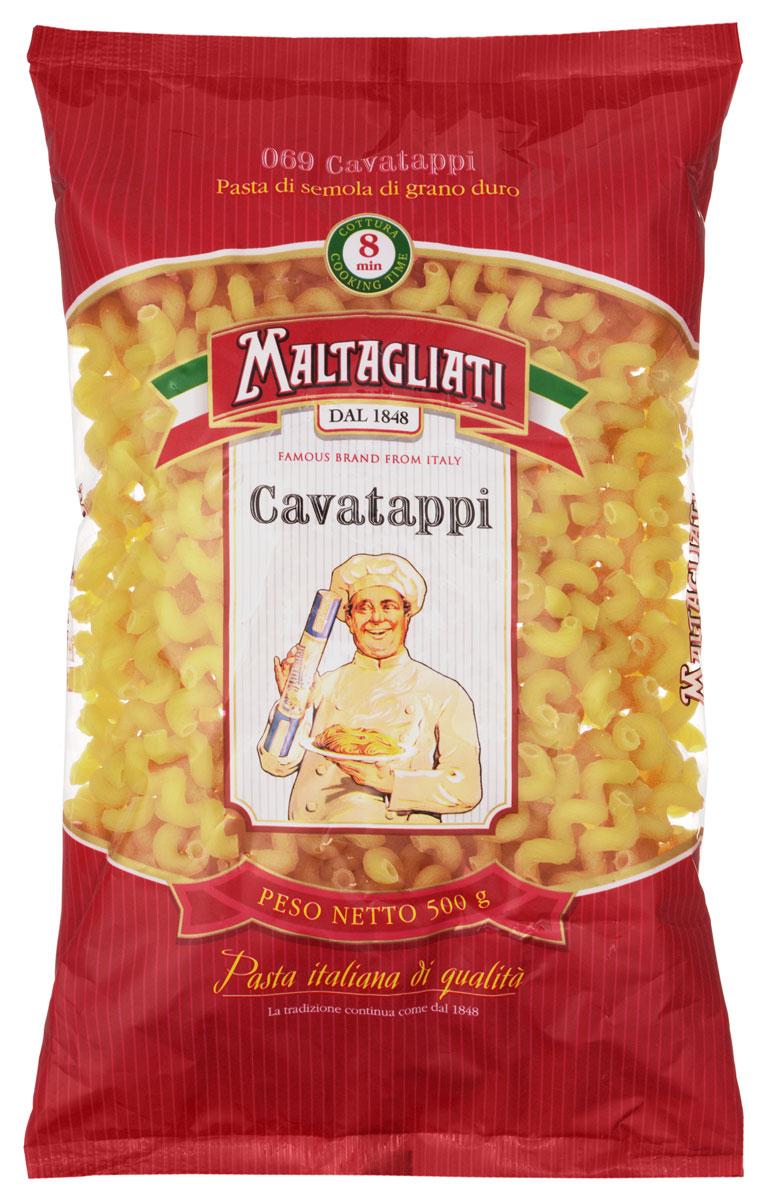 Maltagliati Cavatappi Виток макароны, 500 г8001810903552Макаронные изделия Maltagliati производятся в Италии в Тоскане с 1848 года. Несмотря на то, что Maltagliati - это имя собственное, с начала прошлого века Maltagliati используется в Италии как нарицательное имя для домашней лапши и формата макаронных изделий похожих на домашнюю лапшу. Это самые известные итальянские макаронные изделия на территории Российской Федерации и, вероятно, всего бывшего СССР.Лайфхаки по варке круп и пасты. Статья OZON Гид