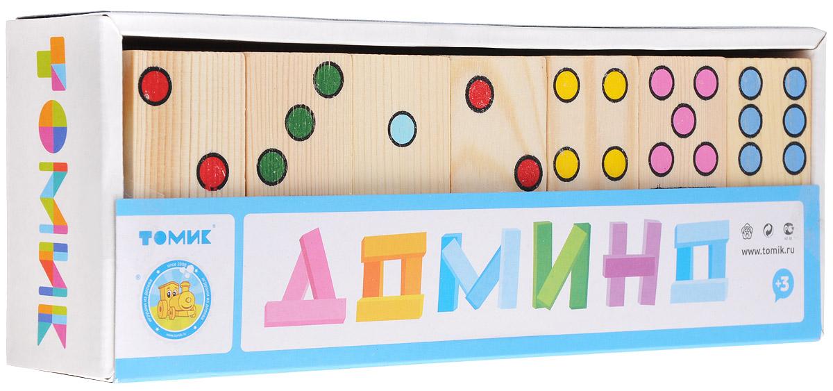 Томик Домино Точки настольная игра домино стеллар хорошие знакомые 9
