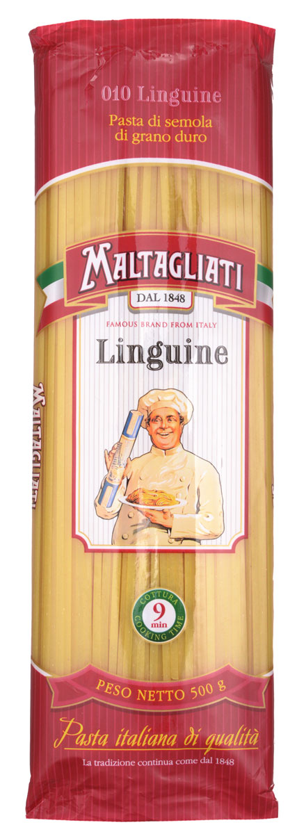 Maltagliati Linguine Лапша макароны, 500 г maltagliati gnocchi куколка макароны 500 г