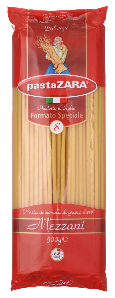 Pasta Zara макароны с дырочкой, 500 г pasta zara улитки макароны 500 г