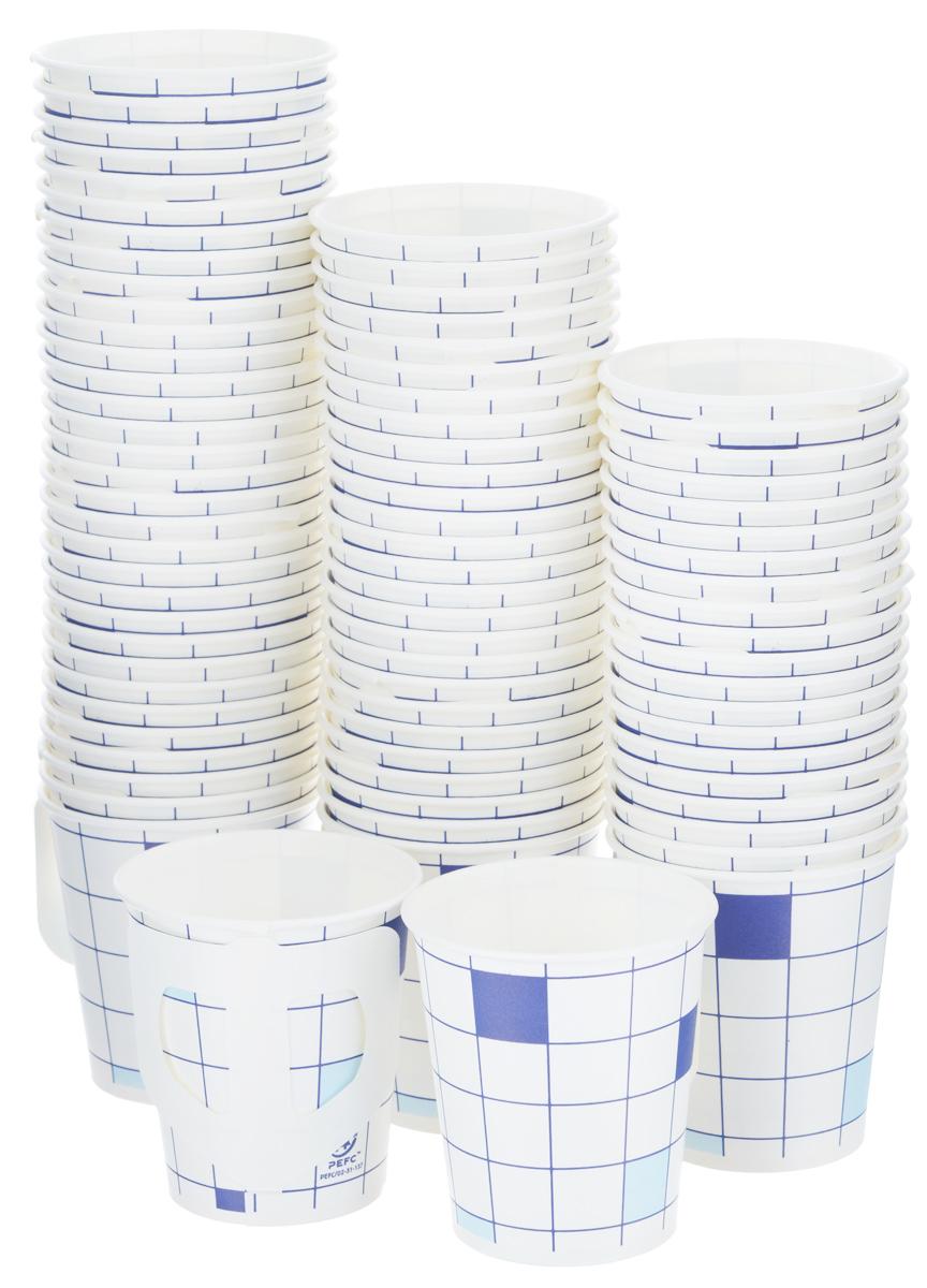"""Набор одноразовых стаканов Huhtamaki """"Caterline"""", бумажные, с ручкой, 175 мл, 80 шт"""