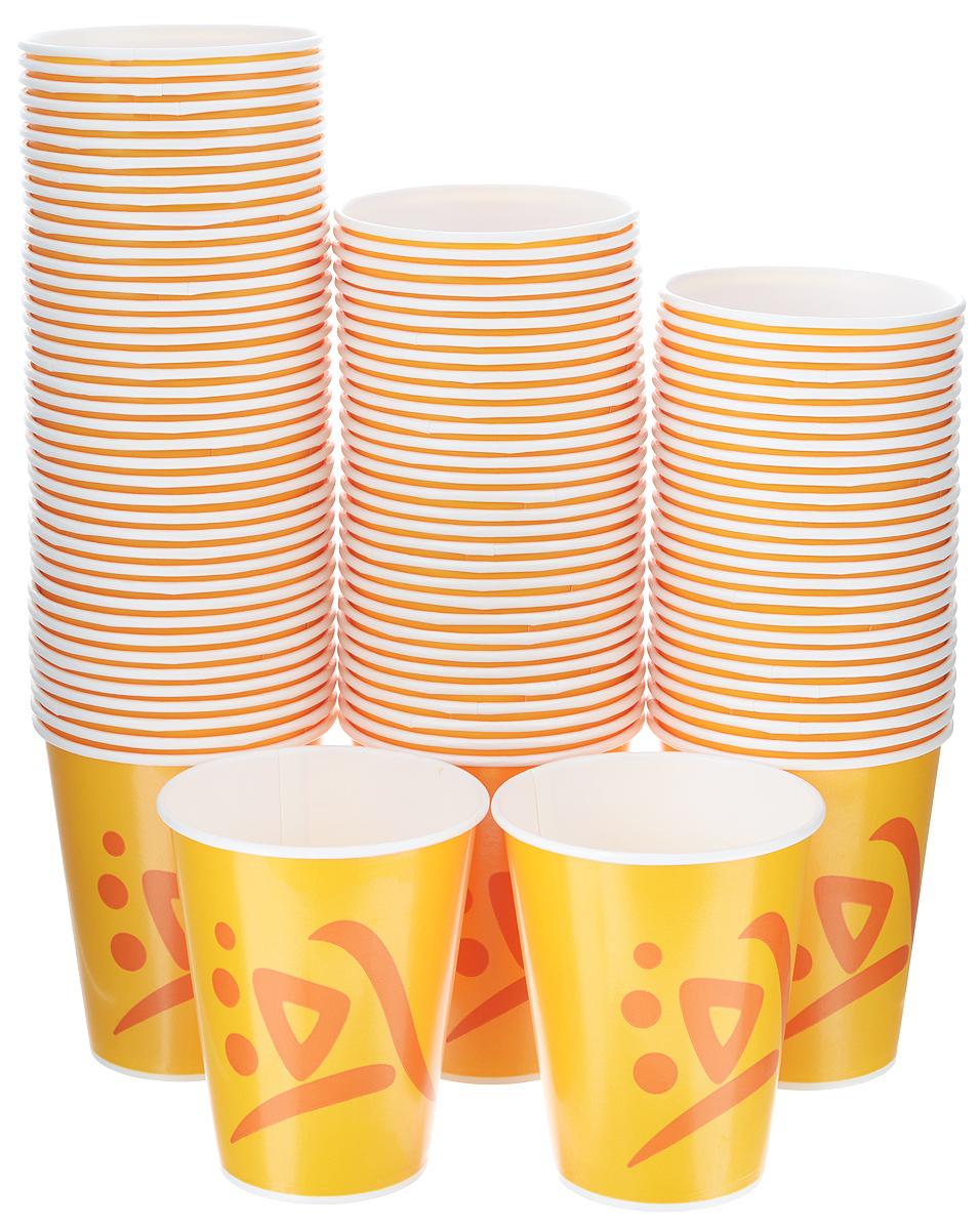 Набор одноразовых стаканов Huhtamaki Whizz, бумажные, 300 мл, 100 шт набор одноразовых стаканов huhtamaki craft 200 мл 35 шт