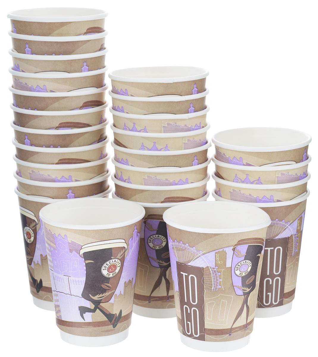 Набор одноразовых стаканов Huhtamaki Coffee Break, 300 мл, 25 штПОС26397Одноразовые стаканы Huhtamaki Coffee Break изготовлены из плотной бумаги и оформлены оригинальным рисунком. Изделия предназначены для подачи различных напитков. Вы можете взять их с собой на природу, в парк, на пикник и наслаждаться вкусными напитками. Несмотря на то, что стаканы бумажные, они очень прочные и не промокают. Диаметр стакана (по верхнему краю): 9 см.Высота стакана: 11 см.