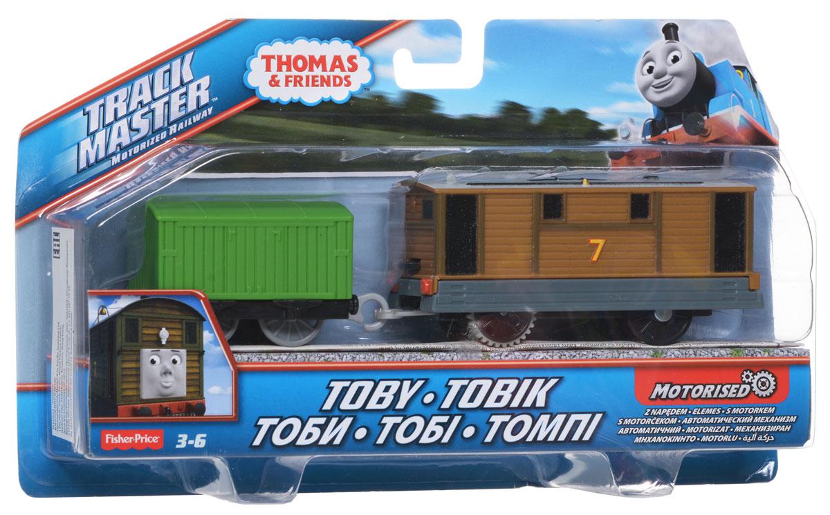 Thomas&Friends Базовый паровозик Тоби, цвет: зеленый коричневый