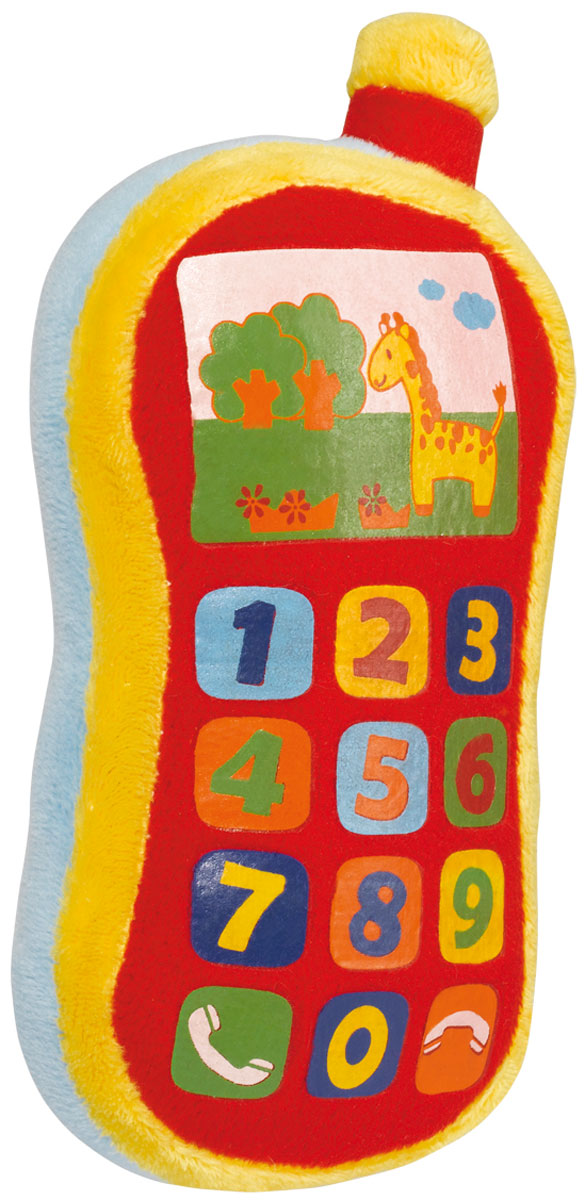 Simba Мягкая игрушка Плюшевый телефон 16 см simba мягкая игрушка плюшевый телефон 16 см