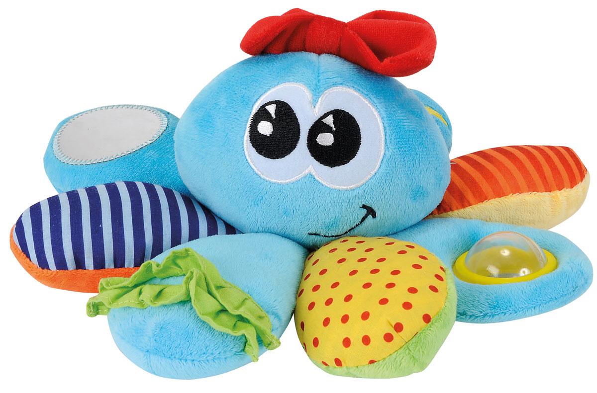 Simba Мягкая игрушка-погремушка Осьминожка bondibon мягкая игрушка погремушка слоник