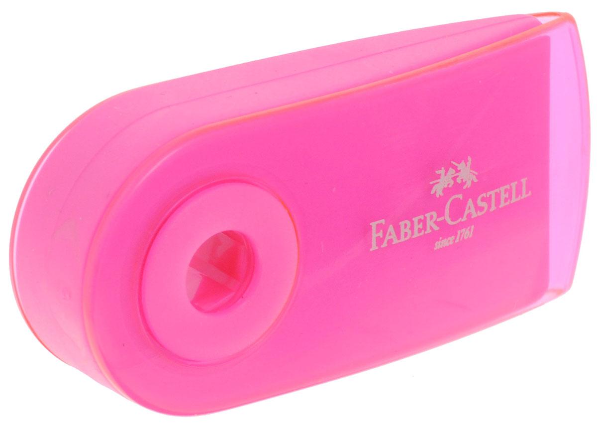 Faber-Castell Ластик Sleeve цвет розовый263396_розовыйЛастик Sleeve Faber-Castell станет незаменимым аксессуаром на рабочем столе не только школьника или студента, но и офисного работника. Аккуратный и не оставляет грязных разводов. Кроме того высококачественный ластик не содержит ПВХ. Не повреждает бумагу даже при многократном стирании. Специальный удобный пластиковый футляр позволит защитить ластик от повреждений.