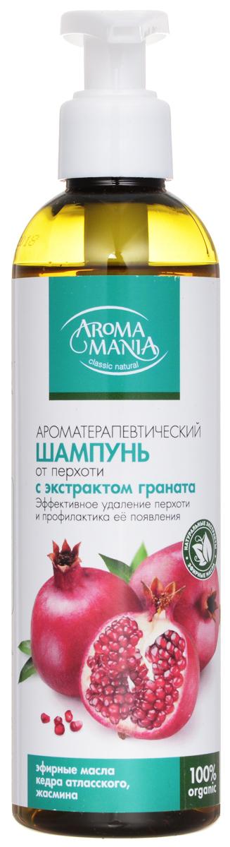 Аромамания шампунь От перхоти с экстрактом гараната, 250 мл аромамания шампунь с касторовым маслом 250 мл