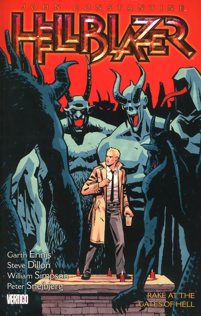 John Constantine, Hellblazer: Volume 8: Rake at the Gates of Hell john constantine hellblazer vol 6 bloodlines