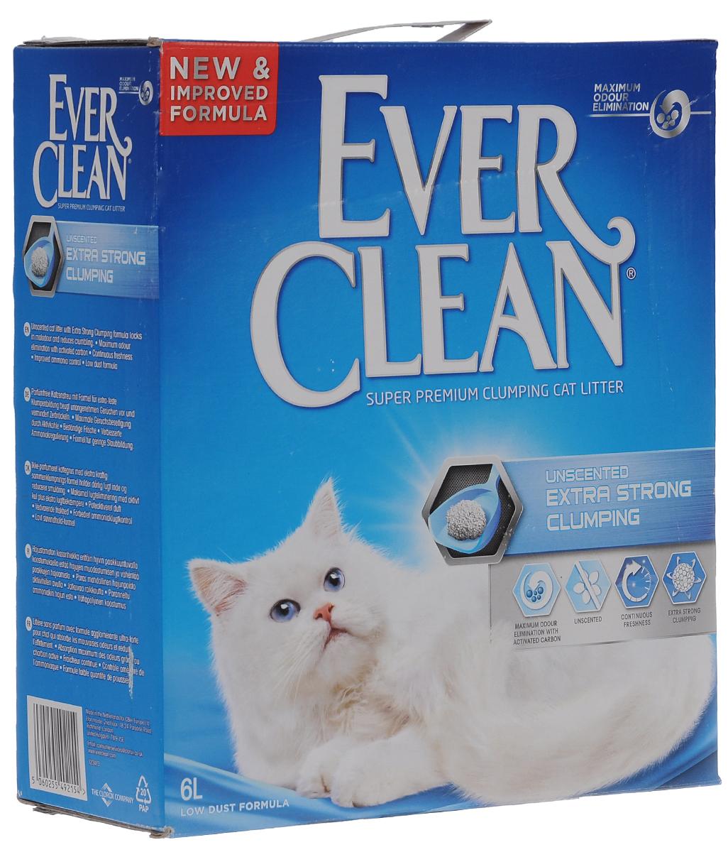 Наполнитель для кошачьего туалета Ever Clean Extra Strong Clumpin , комкующийся, без ароматизатора, 6 л59651_без ароматизатораНаполнитель для кошачьего туалета Ever Clean - это элитная серия высококачественных комкующихся наполнителей с уникальными свойствами. Сделан из бентонита - глины с уникальным впитывающими свойствами. Наполнитель на 99% состоит из специально обработанной, очищенной и свободной от пыли глины, поэтому аллергические реакции у людей и кошек наблюдаются очень редко. Специальные вещества в его составе уничтожают бактерии ипоглощают неприятные запахи. В ядро каждой гранулы помещен специальным образом обработанныйактивированный уголь для максимального контроля запахов. Гранулы наполнителя не только отлично впитывают, но и образуют крепкие комки. Состав: глина, активированный уголь.Объем: 6 л.