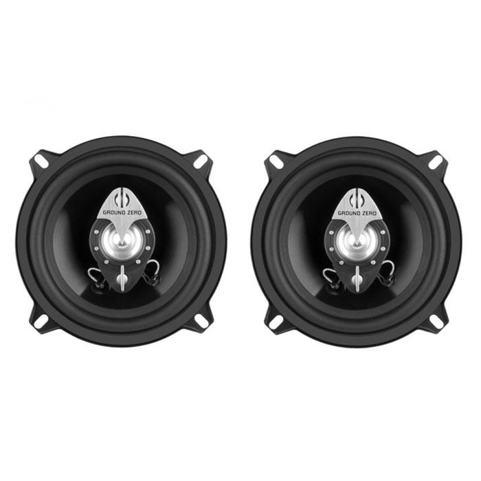 Ground Zero GZFF 130X автомобильная акустика, 2 штGROUND ZERO GZFF 130XGround Zero GZFF 130X - 3-полосная коаксиальная акустическая система с IMPP диффузором для вашего автомобиля. Динамики имеют резиновый подвес и литую корзину. Майларовый твитер оснащен кроссовером 6 дБ, а также имеется дополнительный пьезо-твитер. Эти особенности позволят вам в полной мере насладиться качественным звуком по приемлемой стоимости.Материал корзины: стальМатериал магнита: феррит/неодим/пьезоТип установки твитера: ABS