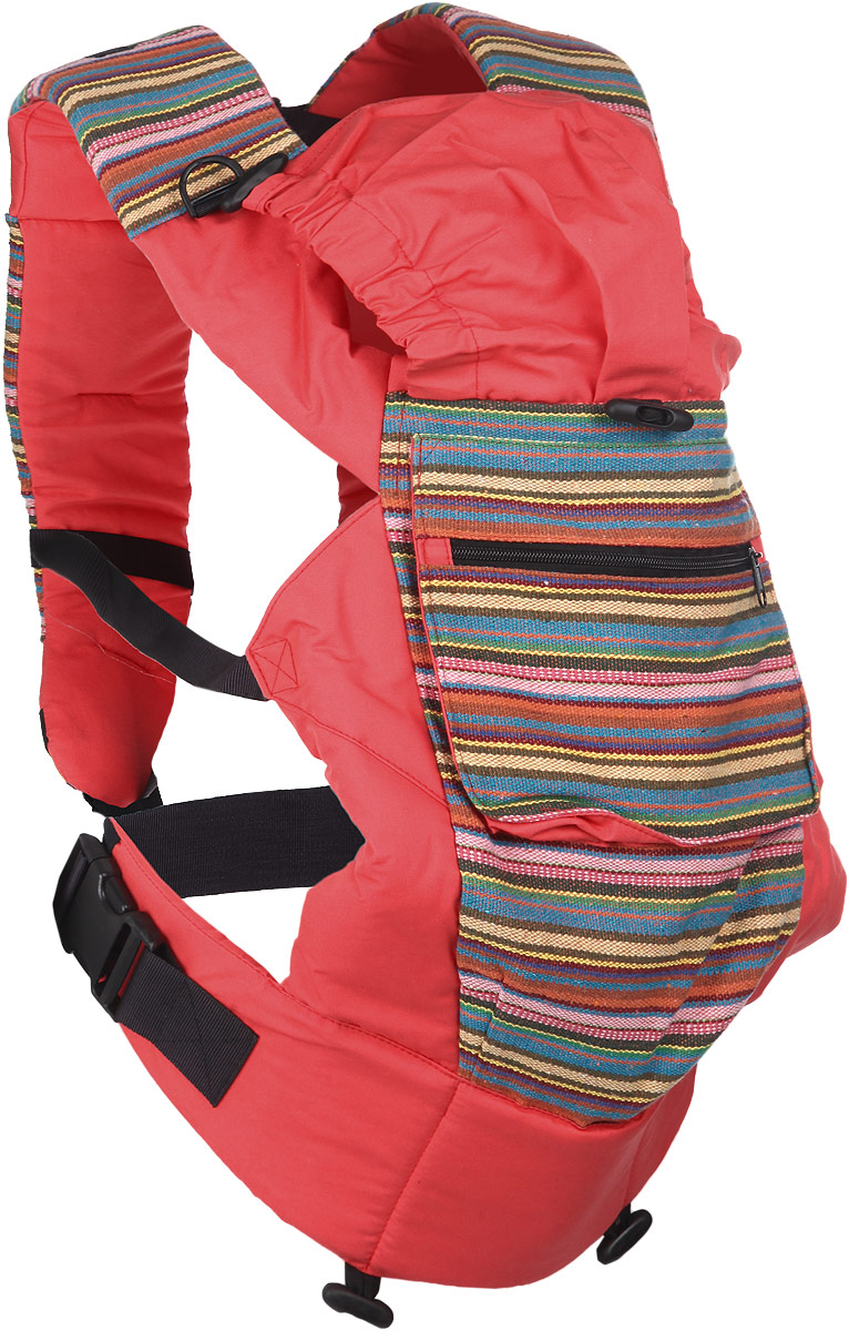 Чудо-Чадо Слинг-рюкзак Уичоли цвет коралловый