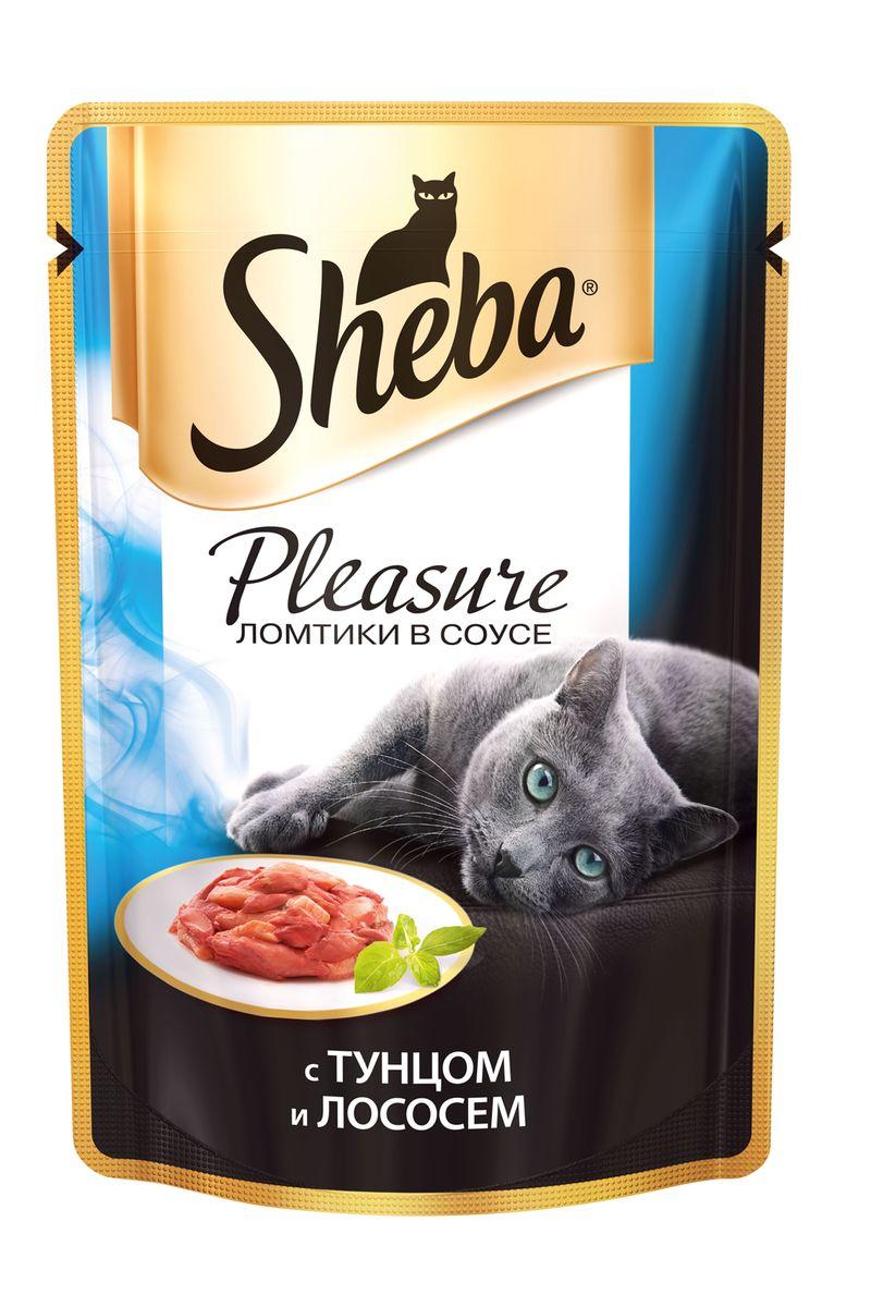 Консервы для взрослых кошек Sheba Pleasure, с тунцом и лососем, 85 г18623Консервы Sheba Pleasure - это полнорационный консервированный корм для взрослых кошек. Не содержит сои, искусственных красителей и ароматизаторов. Удивительная гармония, рожденная сочетанием двух видов морской рыбы: тунца и нежного лосося. Эти изысканные ингредиенты оттеняют друг друга, сливаясь в аппетитном дуэте. Нежная консистенция и тонкий аромат не оставят ни одну кошку равнодушной.Состав: мясо и субпродукты (мясо тунца минимум 4%, мясо лосося минимум 4%), таурин, витамины и минеральные вещества. Пищевая ценность в 100 г: белки - 11,0 г; жиры - 3,0 г; зола - 2,0 г; клетчатка - 0,3 г; витамин А - не менее 90 МЕ; витамин Е - не менее 1,0 МЕ; влага - 82 г. Энергетическая ценность в 100 г: 75/314 кДж ккал.Товар сертифицирован.Уважаемые клиенты! Обращаем ваше внимание на возможные изменения в дизайне упаковки. Качественные характеристики товара остаются неизменными. Поставка осуществляется в зависимости от наличия на складе.