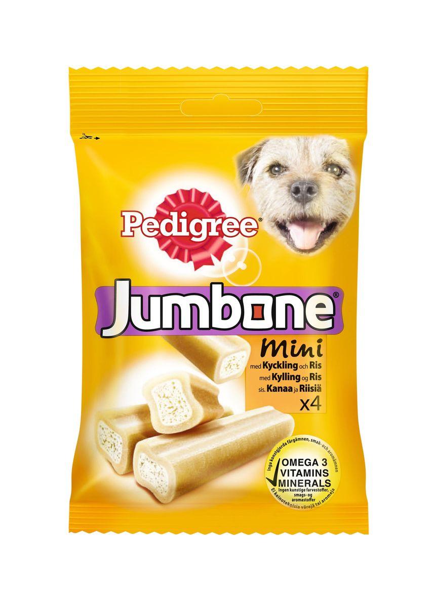 Лакомство Pedigree Jumbone Mini, для миниатюрных собак, с курицей и рисом, 180 г дезсредства в г чите