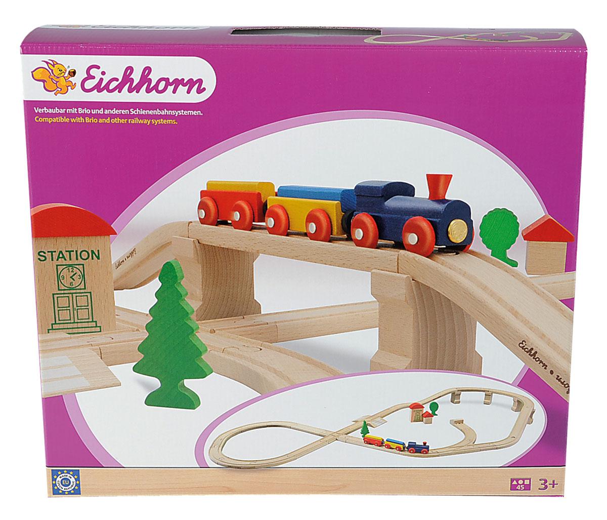 Eichhorn Железная дорога с мостом и тупиком